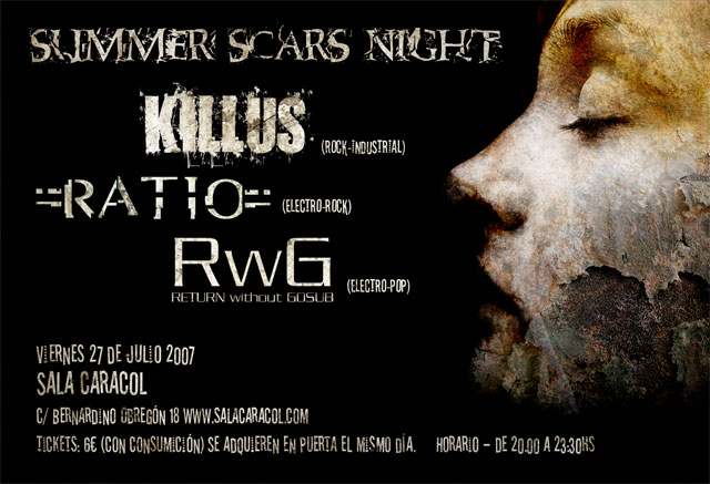 RETURN without GOSUB live at Summer Scars Night with Killus and Ratio